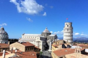 The guided visits to Pisa, Lucca and Florence