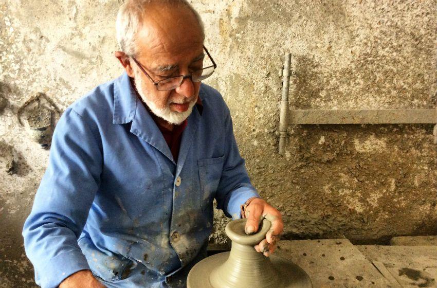 Meet local artisans at work and buy original pieces