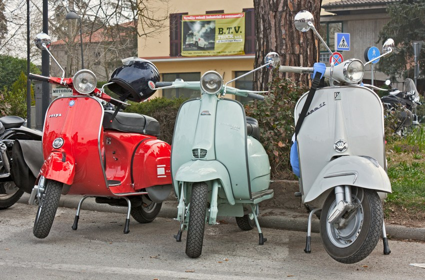 Visit the Piaggio museum, home of the Vespa