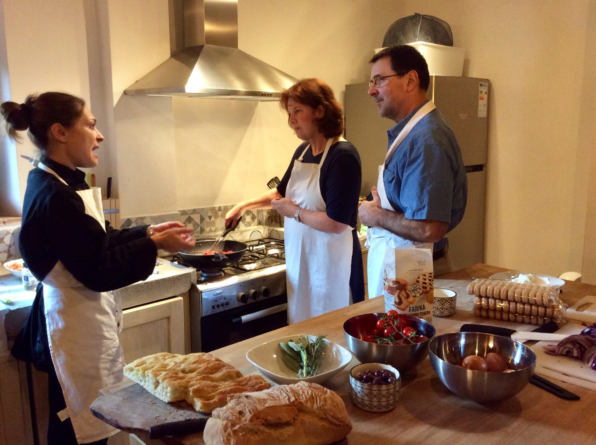 Join a cooking class and cook like a Tuscan