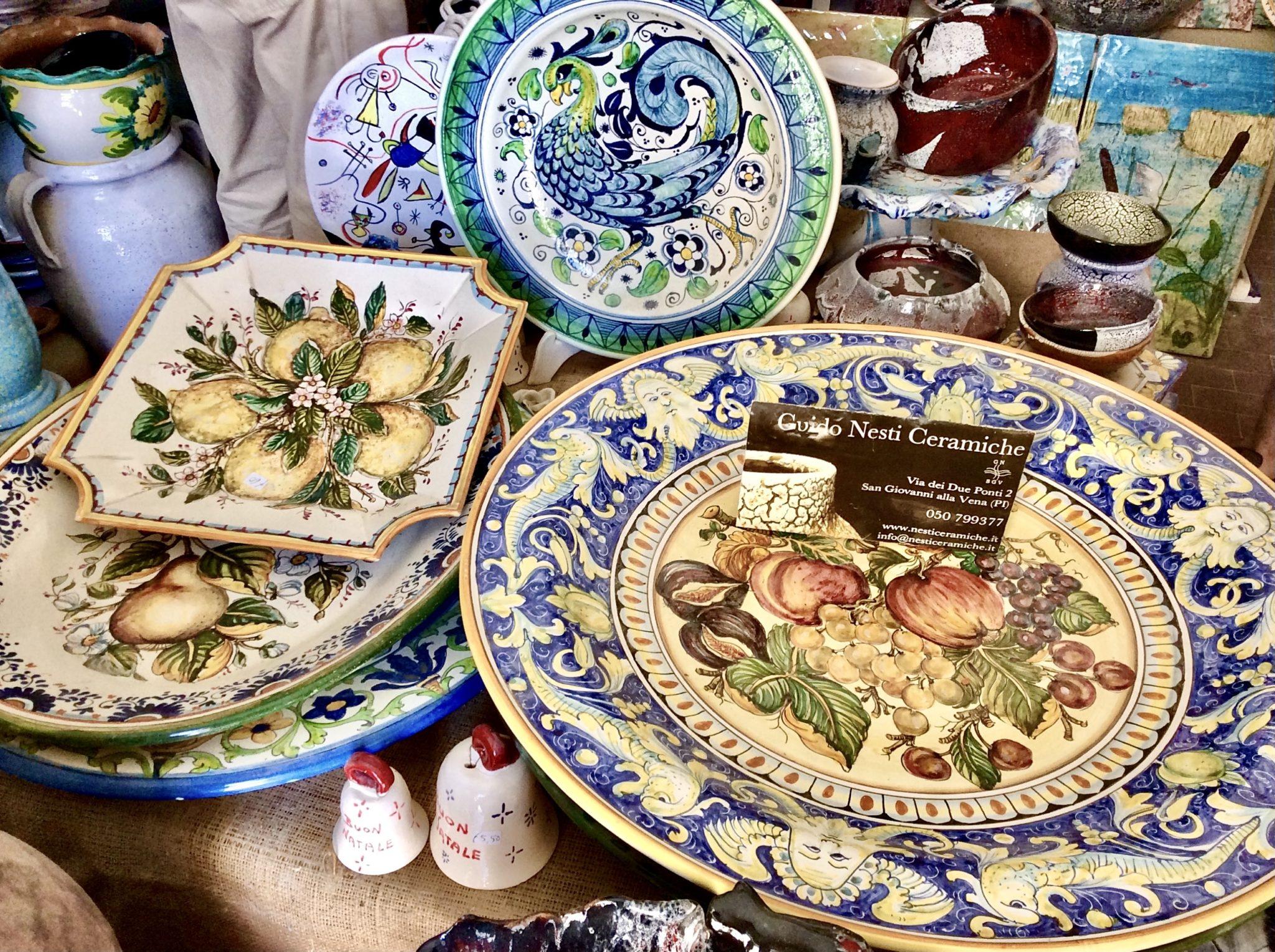Authentic Tuscan Ceramics from Vicopisano