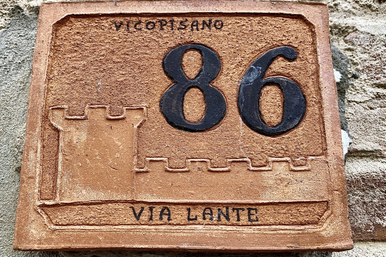 #7 Door numbers